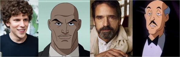 Batman Vs. Superman - Lex Luthor e Alfred