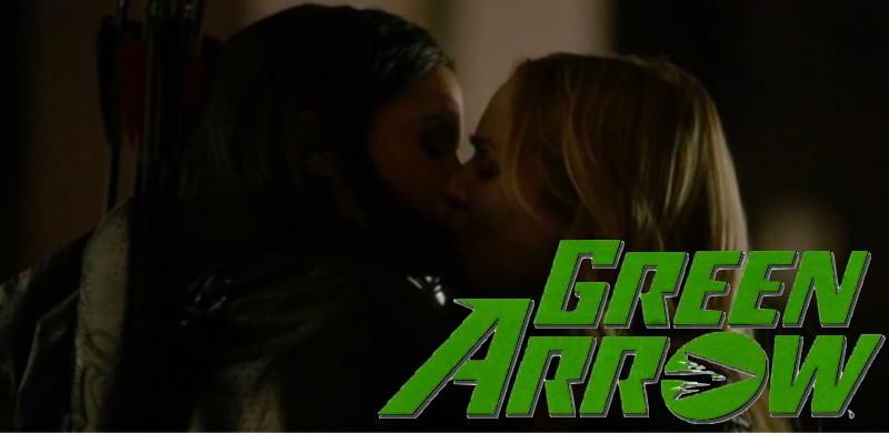 Beijo Lésbico em Arrow