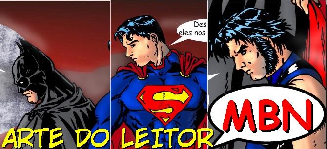 Liga da Justiça e X-Men - Arte do Leitor - Fanadart