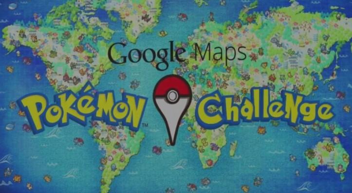 Google Maps - Pokemon Challenge