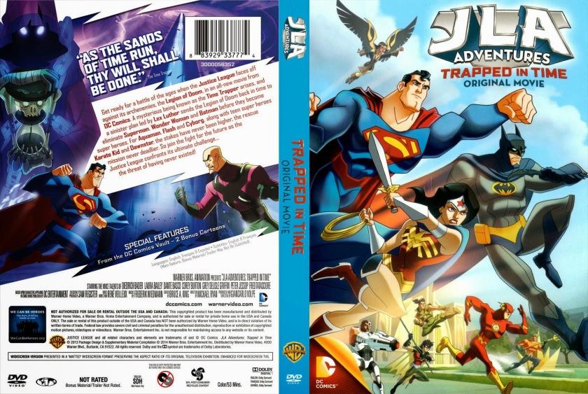Liga da Justiça Armadilha do Tempo (JLA Adventures - Trapped in Time)