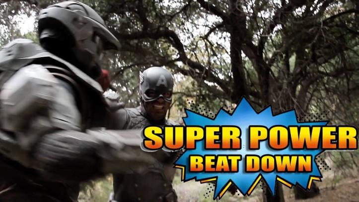 Master Chief Vs. Capitão América - Super Power Beat Down - Episódio 11