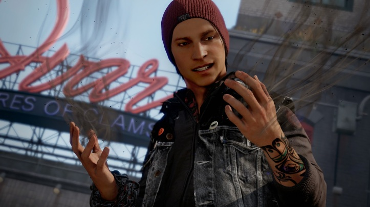 inFamous Second Son - Andrew Garfiled/Peter Parker?