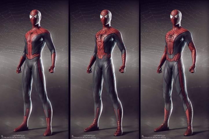 Espetacular Homem-Aranha - A Ameaça de Electro - Uniformes Alternativos