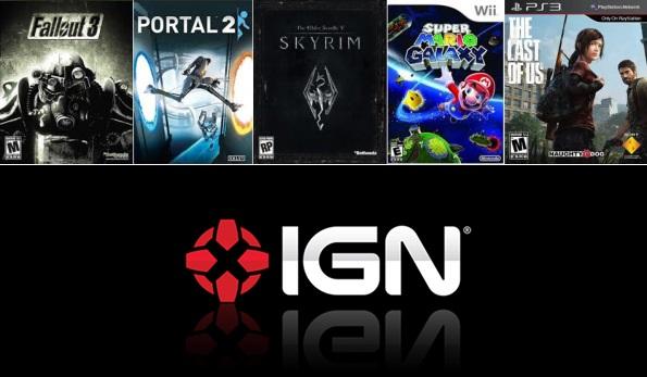 Top 100 - Melhores Jogos da Geração Passada, by IGN
