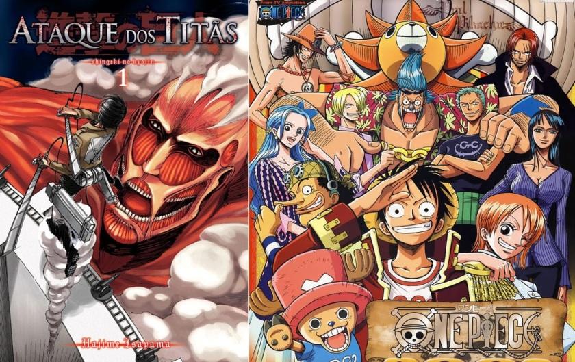 Ataque de Titãs (Shingeki no Kyojin) supera vendas de mangá de One Piece