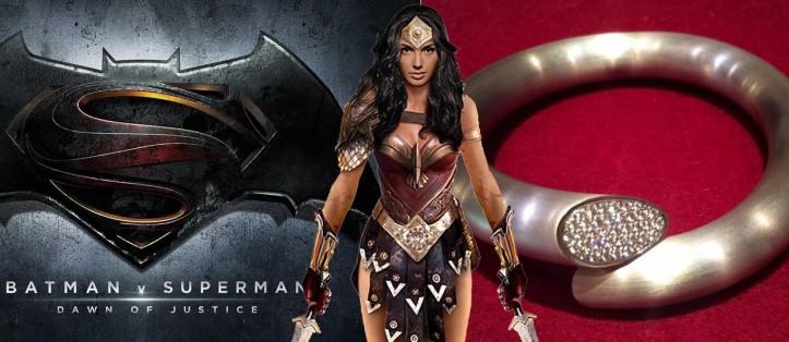 Batman V Superman - Dawn of Justice - Bracelete da Mulher-Maravilha