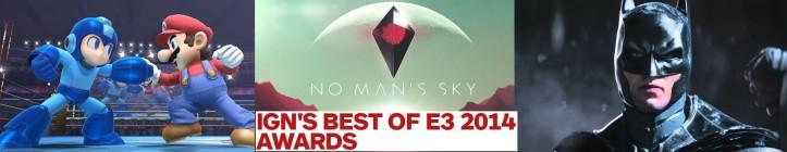 IGN´s E3 2014 Awards