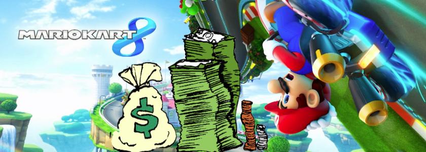 Mario Kart 8 vende mais de 1,2 milhões de cópias