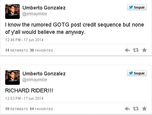 Richard Rider (Nova) em Guardiões da Galáxia - Twitter