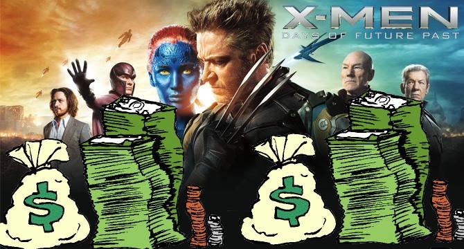 X-Men - Dias de um Futuro Esquecido - Recorde de bilheteria dos X-Men