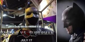 Batman V Superman - Uniforme na Comic Con 2014