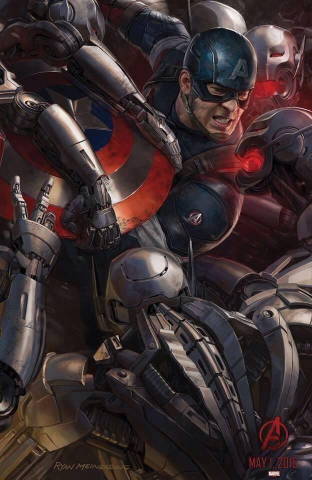 Capitão América Vs. Ultron