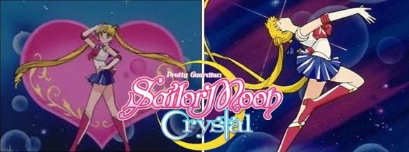 Pretty Guardian Sailor Moon Crystal - Abertura, encerramento e transformação