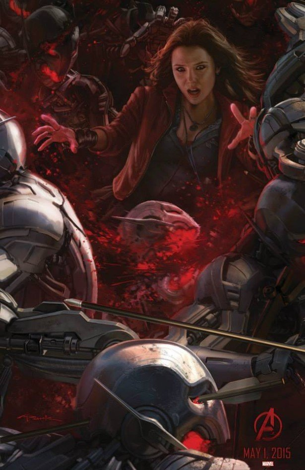 Scarlet Witch Vs. Ultron