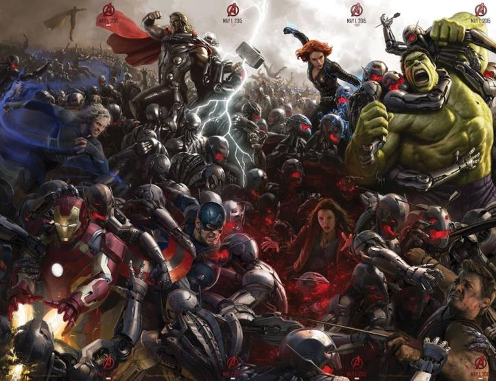 The Avengers - Age of Ultron - Poster Completo Comic Con 2014