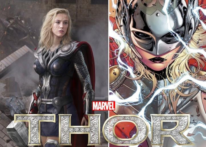 Thor será mulher nos quadrinhos Marvel