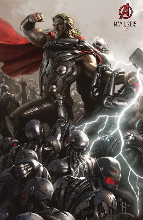 Thor Vs. Ultron