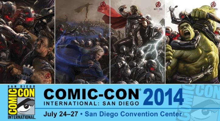 Vingadores - A Era de Ultron - Poster da Comic Con 2014 completo
