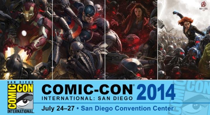 Vingadores - Era de Ultron - Comic Con 2014 Posteres