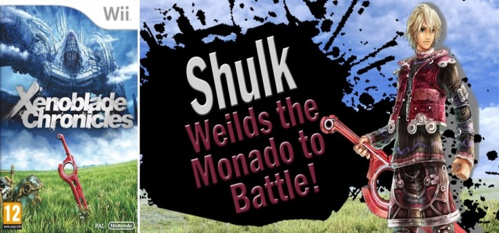 Shulk no Super Smash Bros - Xenoblade Chronicles X - Xenoblade Chronicles New 3DS