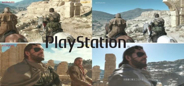 Metal Gear Solid V - Comparação gráfica demo E3 2013 vs. Gamescom 2014 - Downgrade