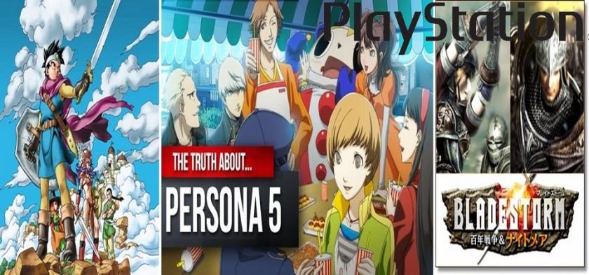 Playstation - Sony anuncia vários jogos japoneses  e Rpgs em conferência
