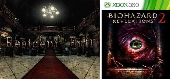 Resident Evil HD Remaster e Resident Evil Revelations 2