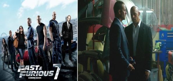 Velozes e Furiosos 7 - Vin Diesel e Paul Walker