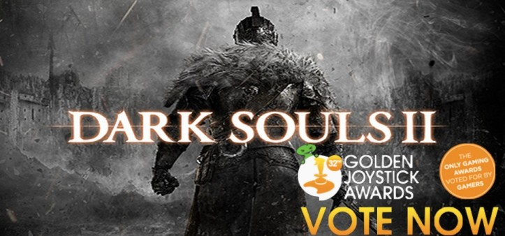 Dark Souls II é eleito jogo do ano na Golden Joystick Awards 2014