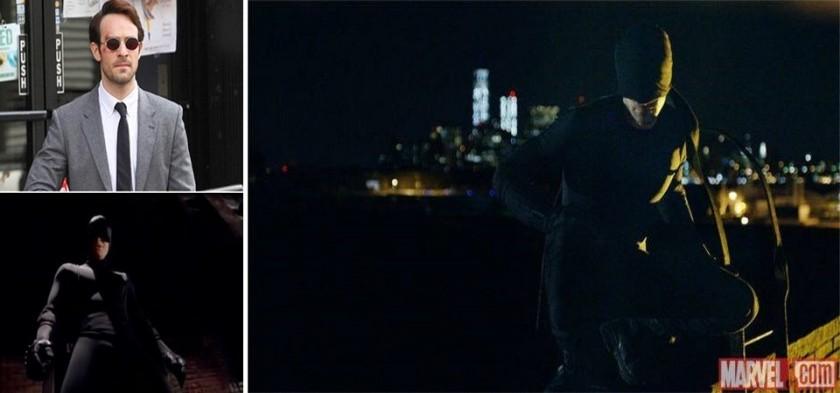 Demolidor - Primeira foto oficial da série do Netflix da Marvel Comics