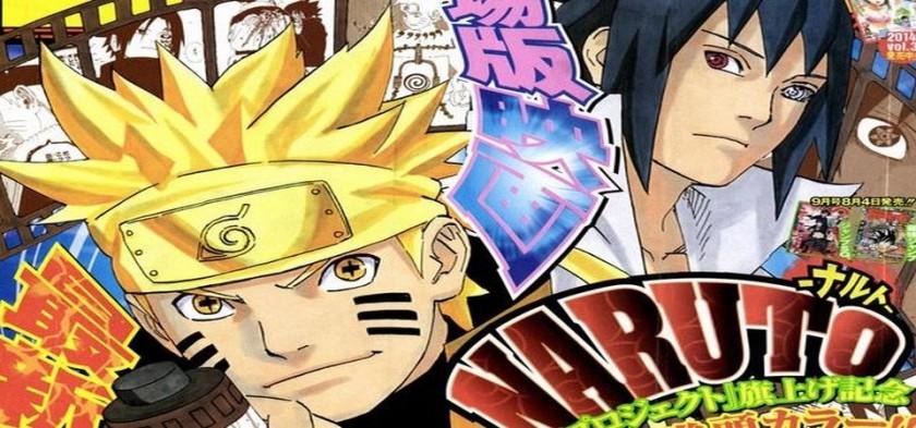 Naruto - Anúncio oficial do fim do mangá