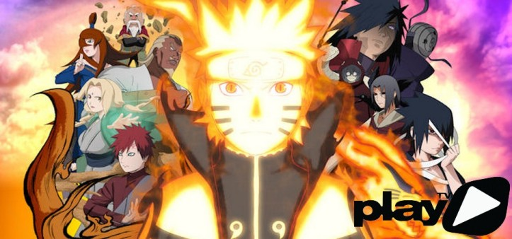 Naruto Shippuden no Play TV Brasil