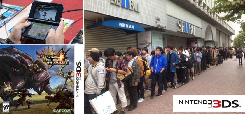 New Nintendo 3DS e MH 4 Ultimate lançados no Japão