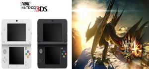 New Nintendo 3DS e Monster Hunter 4 Ultimate - Vendas