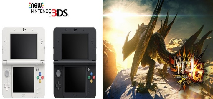New Nintendo 3DS e Monster Hunter 4 Ultimate - Vendas