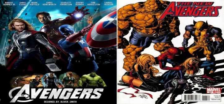 Vingadores 3 com Novos Vingadores e sem Capitão América, Homem de Ferro, Thor e Hulk