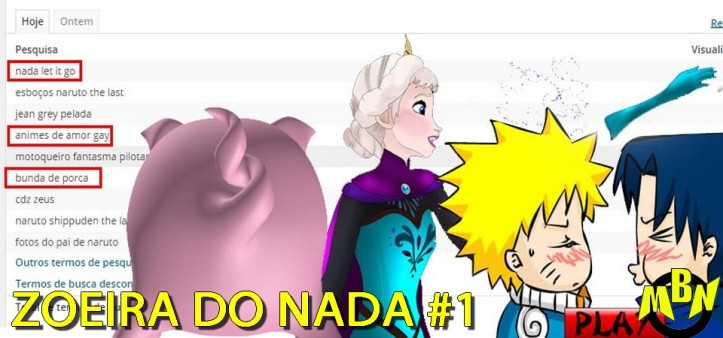 Zoeira da Pesquisa #1 - Pig Ass, Nada Frozen e Yaoi