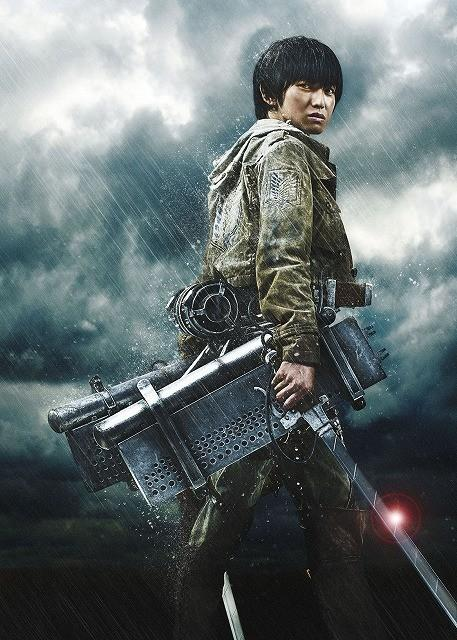 live-action Attack on Titan poster-Armin