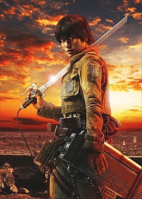live-action Attack on Titan poster-Eren