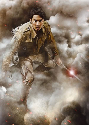 Live-Action Attack on Titan poster - Fukushi