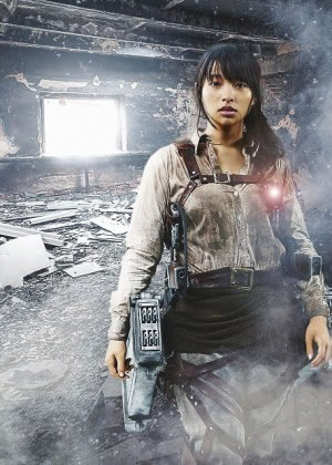 Live-Action Attack on Titan poster - Hiana