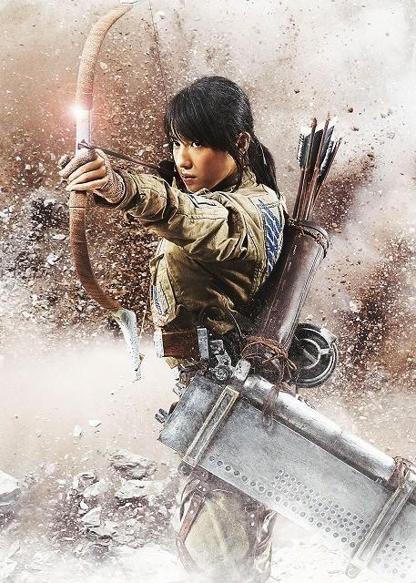 live-action Attack on Titan poster-Sasha