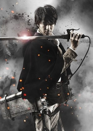 Live-Action Attack on Titan poster - Shikishima