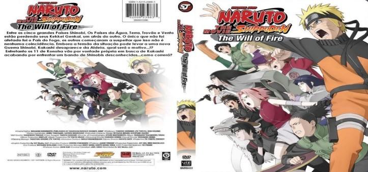 Naruto Shippuden - Filme 03 - Herdeiros da Vontade do Fogo