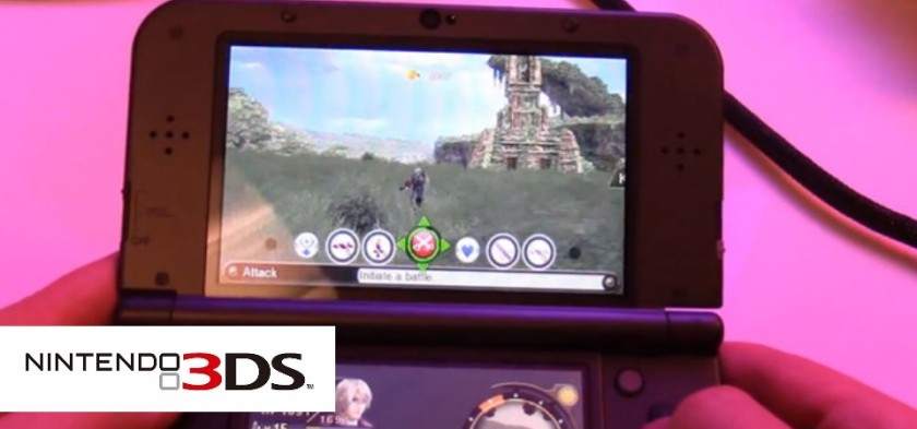 Xenoblade Chronicles 3D - Gameplay