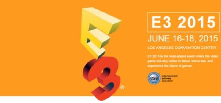 E3 2015 - Lista de jogos confirmados