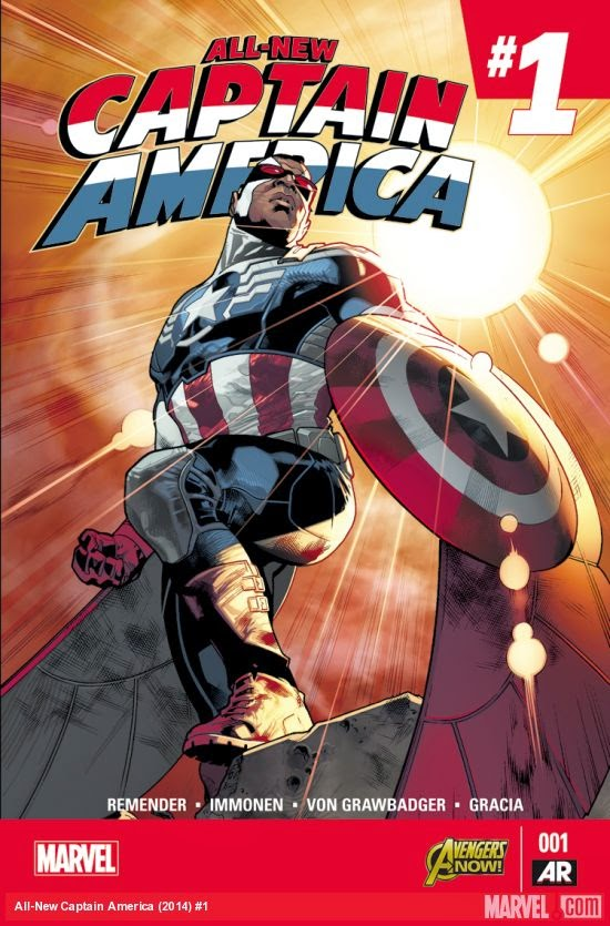 All New Captain America #1