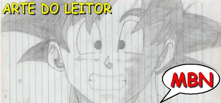 Fanadart - Son Goku de Igor Pedro, arte do leitor