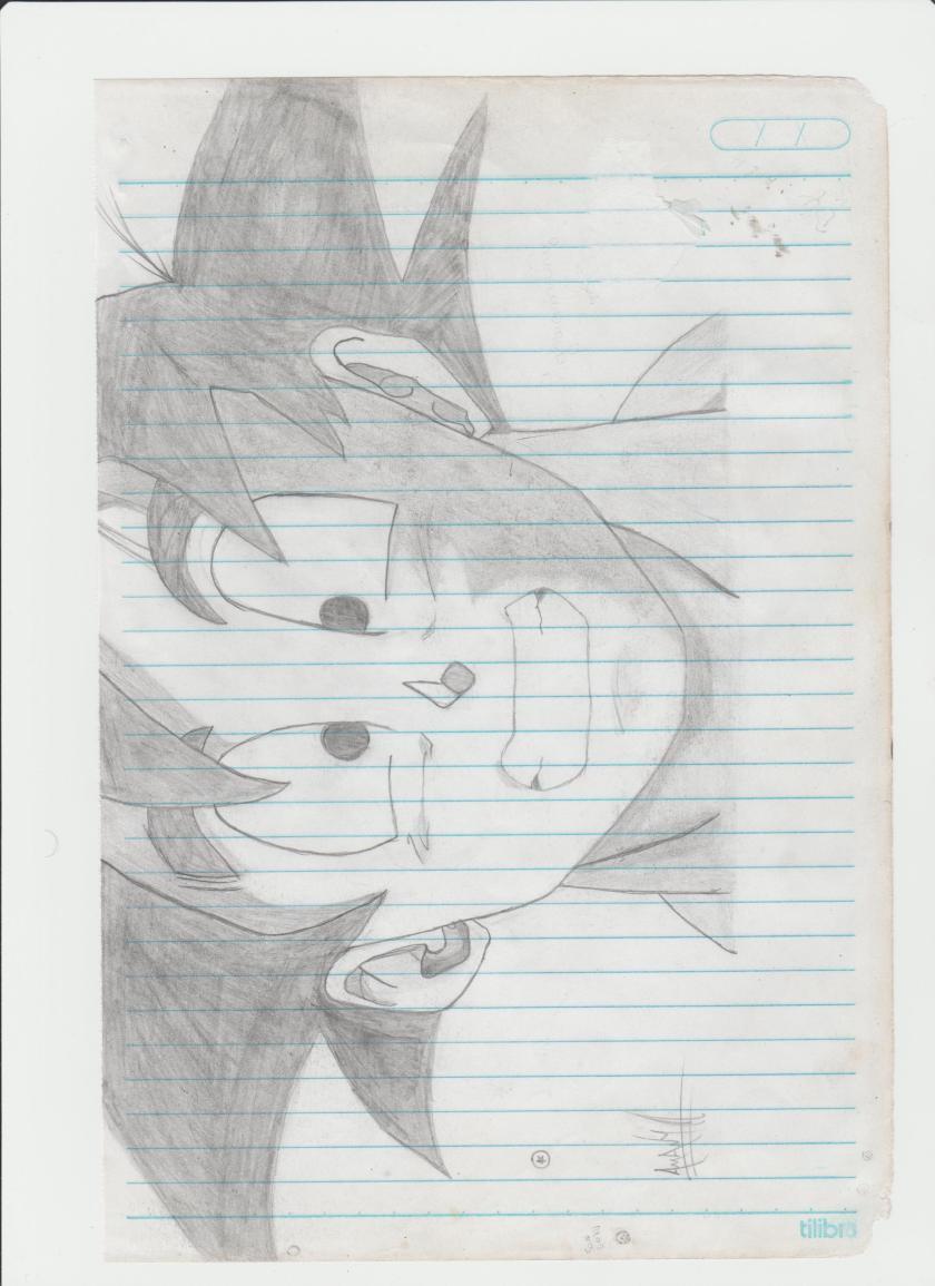 Son Goku de Igor Pedro - Fanadart